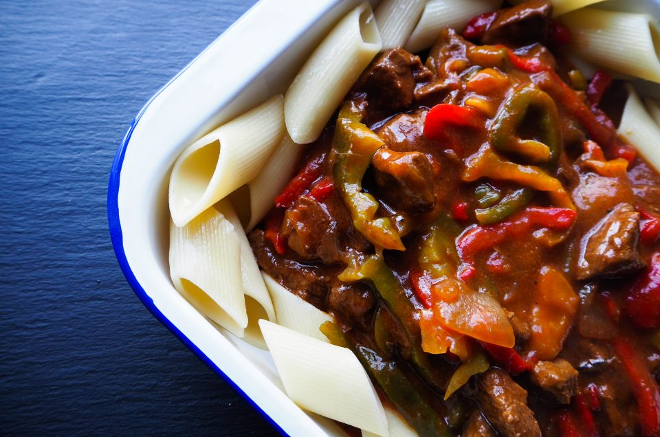 Cosy Beef and Bell Pepper Stew
